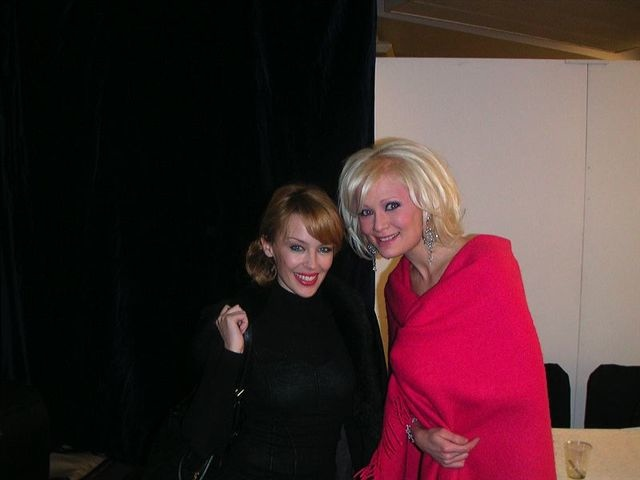Kylie Minogue and Linda