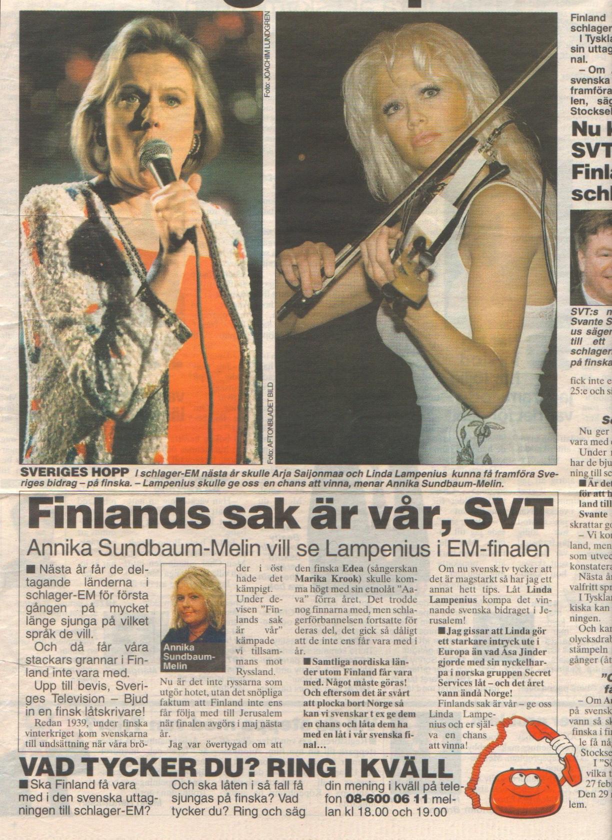 Aftonbladet nöje 10.12.1998-2