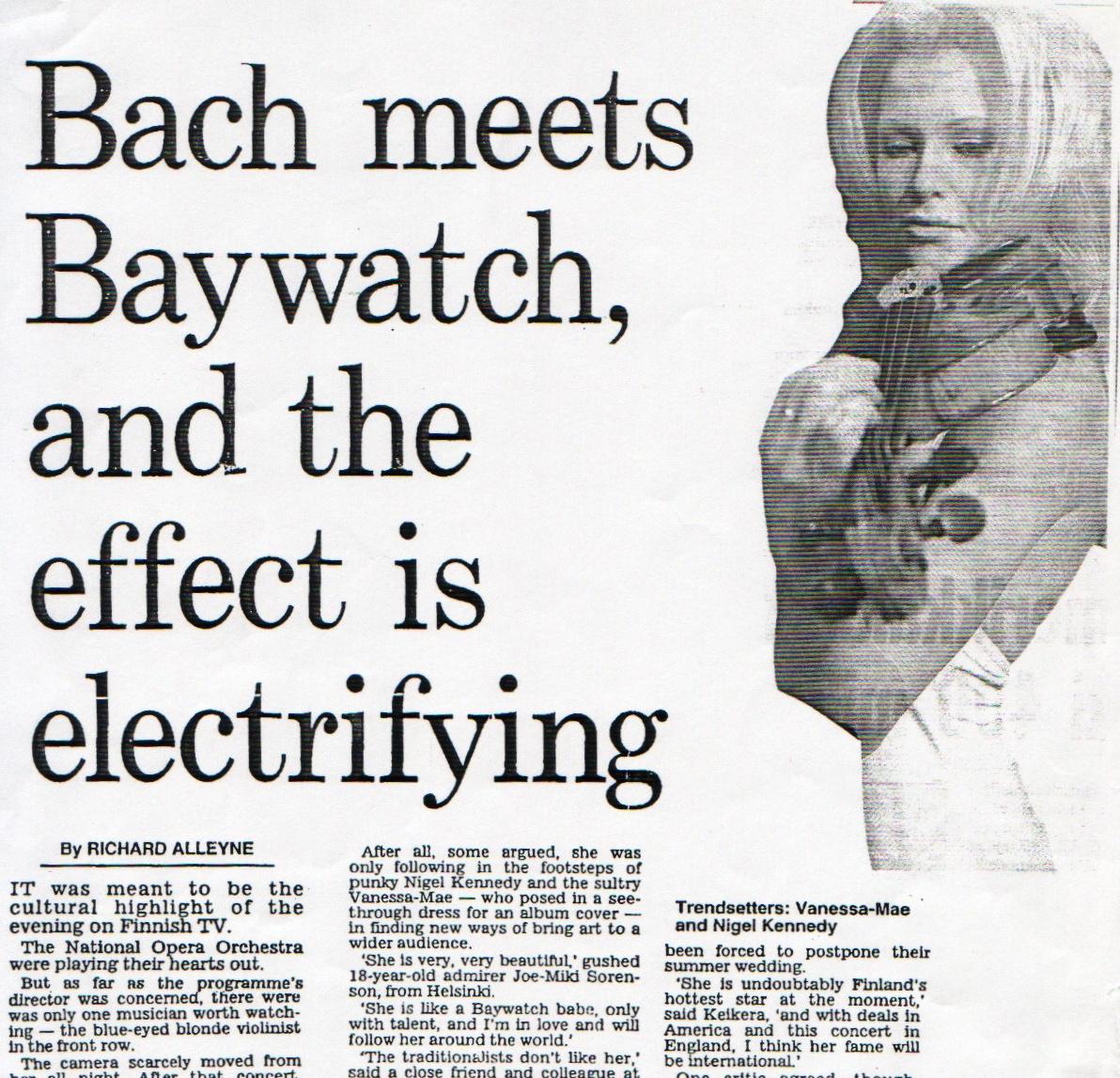 bach meets baywatch